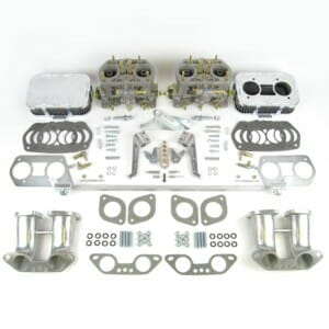 VW T25 (TÜÜP 25) TWIN WEBER 40 IDF CARBURETTOR KONVERTEERITUD KIT