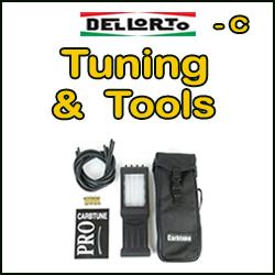 DELLORTO häälestus ja tööriistad (C)