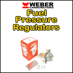 WEBER Fuel Pressure Regulators