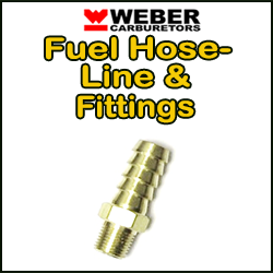 WEBER Carb Fuel Hose / Line & Fittings
