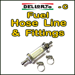 DELLORTO Fuel Hose-Line & Fittings (C)