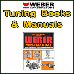 WEBER Carb Tuning Knihy a manuály