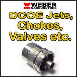 DCOE Jets. Chokes, Valves etc.