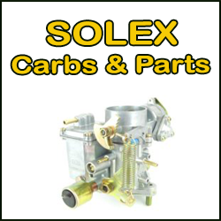 Klik for at gå til SOLEX Carbs & Parts kategori ....