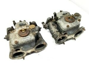 ORIGINAL WEBER 40 DCOE 18 CARBURETTORS FOR SALE (FOR RESTORATION)