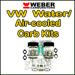 Feu clic per anar a la categoria WEBER VW Carb Kits ...
