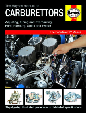 LIVRO MANUAL DO WORKSHOP DE HAYNES SOLEX / FOMOCO / PIERBURG / WEB CARBURETTOR