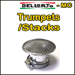 DELLORTO MC Trumpets/Stacks