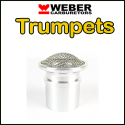 WEBER Carburateur Trompettes