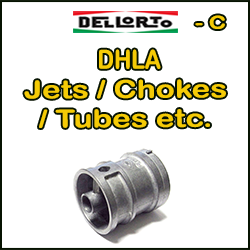 DHLA Jets / Chokes / Tubes itd.
