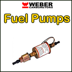 WEBER Carburettor Fuel Pumps