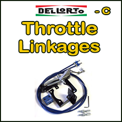DELLORTO Throttle Linkages (C)