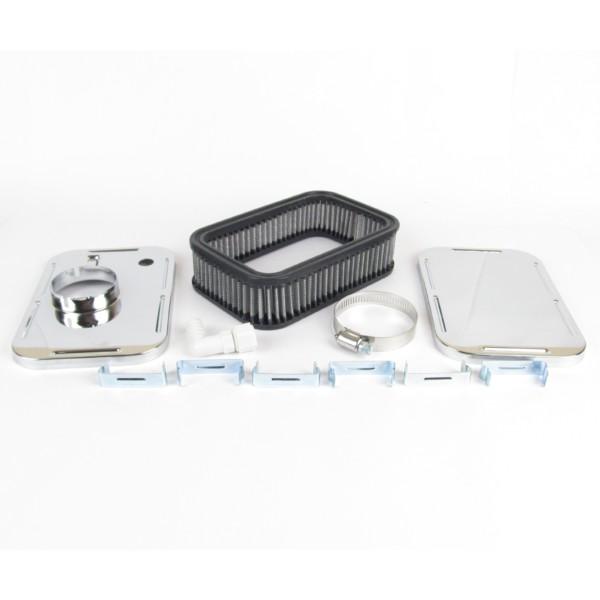 WEBER/DELLORTO/SOLEX CARBURETTOR ICT RECTANGULAR AIR FILTER 45MM DEEP