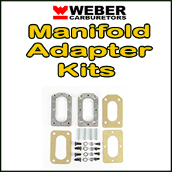 WEBER MANIFOLD ADAPTER KITS