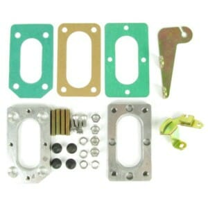 WEBER DGV/DGAV/DGEV CARBURETTOR SUZUKI SAMURAI ADAPTER PLATE KIT AND LINKAGE