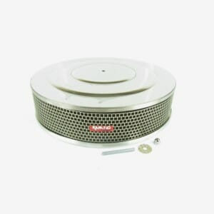 "HOLLEY 2 & 4 BARREL CARBURETTOR RAMFLO AIR FILTER / CLEANER ASSEMBLY (14 ""X 3"")"