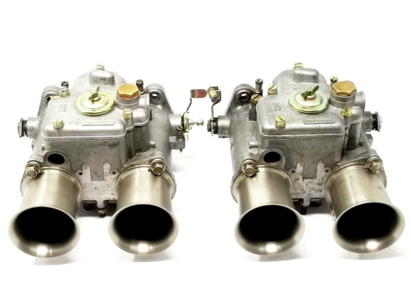 WEBER 48 DCOE 98 & amp; 99 KARBURETORI FORD / LOTUS / COSWORTH BDA / BDG / CROSSFLOW (PAIR)
