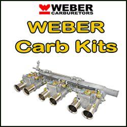 Klik for at gå til WEBER karburator kits kategori ....