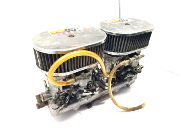 FIAT TWINCAM 124/131 WEBER 40 IDF 13/15 CARBURETTORS, MANIFOLD & AIR FILTER ASSEMBLY