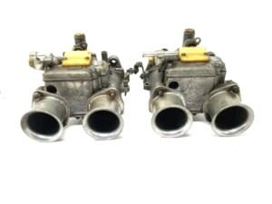 DELLORTO DHLA 48 CARBURETTORS TE KOOP - LOTUS / BDA / PINTO / COSWORTH ENGINE ETC ..
