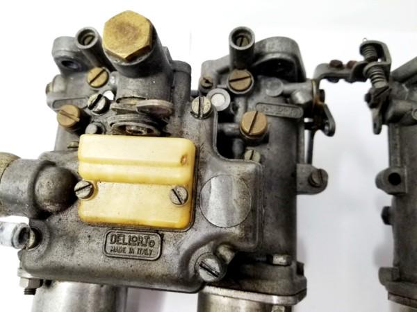 DELLORTO DHLA 48 CARBURETTORS FOR SALE - LOTUS / BDA / PINTO / COSWORTH ENGINE ETC ..