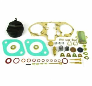 WEBER 46 و 48 إيدبا كاربوريتر MASTER REBUILD / REPAIR / SERVICE GASKET KIT (2-BARREL)