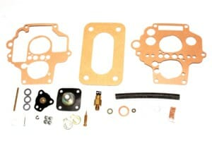 RETRO 32 / 34 DMTL '6' CARBURETTOR REPAIR / GASKET / SERVICE KIT (LAND ROVER SOLI)