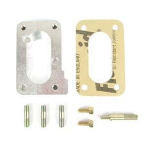PIERBURG 2E -> WEBER 32 / 34 DMTL CARBURETTOR CONFERSION MOUNTING PLATE ADAPTER KIT