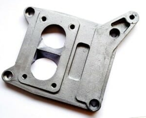MANIFOLD BASE ADAPTER / CONVERSION PLATE SOLEX 4A1 -> A WEBER 38 DGAS / DGMS CARBURETTOR