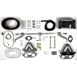 VW TYPE 4 (T4) WEBER 34 ICT INTAKE MANIFOLD & THROTTLE LINKAGE KIT (CB-PERFORMANCE)