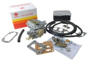 MERCRUISER 4.3L 6-CYLINDER MARINE MOTORRA WEBER 38 DGES CARBURETXEA CONVERSION KIT