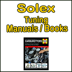 Solex Carburettor Tuning Manuals/Books