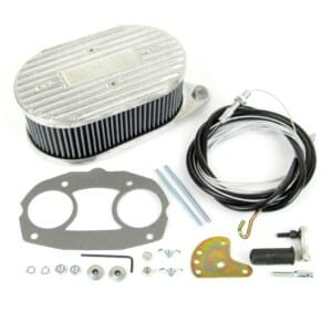 WEBER IDF & DELLORTO DRLA CARBURETTOR AIR FILTER+THROTTLE LINKAGE KIT (COMBO) CB PERFORMANCE