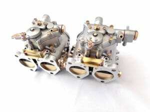 PAIR ORIGINAL SOLEX C 42 DDHF CARBURETTORS FOR CLASSIC LANCIA FULVIA 1.6 HF ENGINE