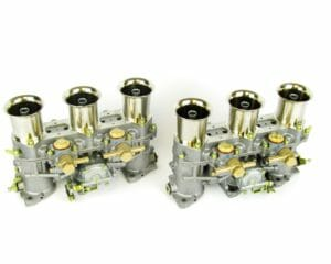 GENUINE WEBER 46 IDA3C TRIPLE-CHOKE CARBURETTORIT CLASSIC PORSCHE 911 (1 PAIR)