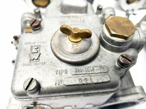 ORIGINALNI WEBER 38 DCOE 59-60 SET ZA KARBURATOR - FERRARI 365 GTC / 4 (ZA PRODAJU)