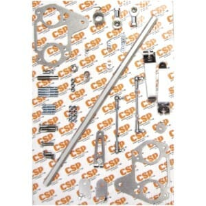 VW CAMPER/BEETLE ENGINE T4/TYPE 4 WEBER/DELLORTO IDF/DRLA HEXBAR LINKAGE KIT (CSP)