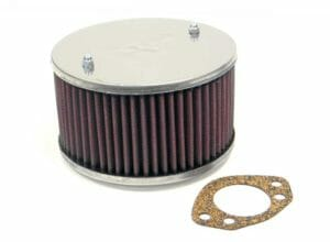 "SU 1.75 ""HS6 & H6 CARBURETTOR AIR FILTER / CLEANER ASSEMBLY (K & N)"