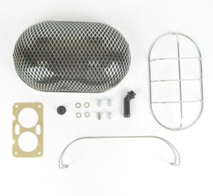 WEBER DCD CARBURETTOR AIR FILTER / CLEANER ASSEMBLY KIT