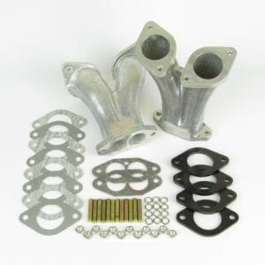 VW AIR-COOLED T1 / TYPE 1 INLET MANIFOLD KIT POR LA REDIRECTORO DE REDIRECTO OR DELLORTO DRLA CARBURETTORS
