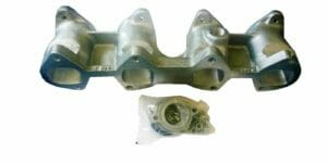 BMW 2000 / 2002 M10 MOTORA STIKLS / DELLORTO DHLA CARBURETTOR CONVERSION MANIFOLD (45MM)
