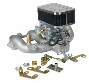 WEBER 38 DGES CARBURETTOR CONVERSION KIT FOR VOLVO B21/B23 PENTA 2.3/2.5L MARINE ENGINE