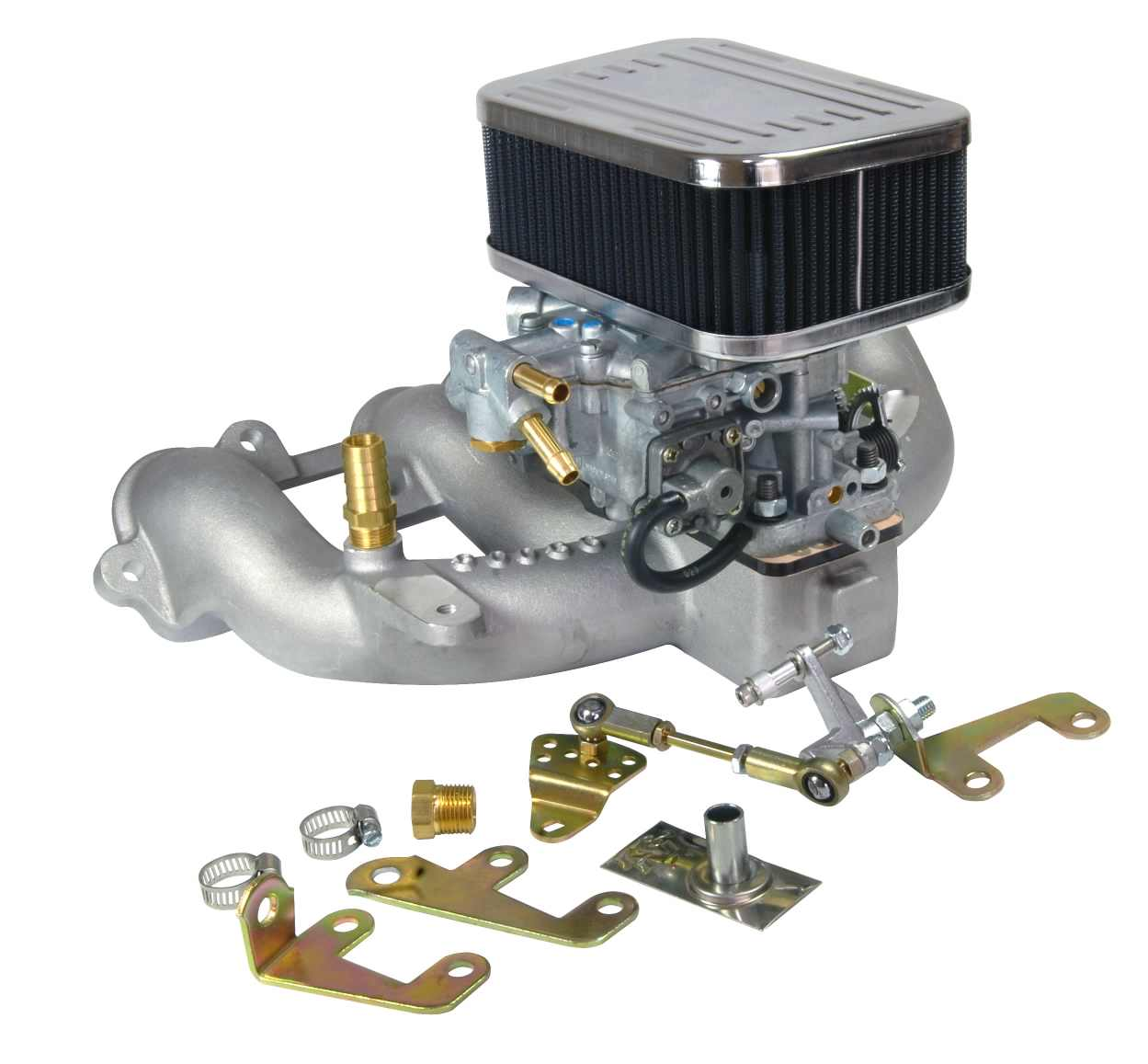 Weber 38 Dges Carburettor Conversion Kit For Volvo B21  B23