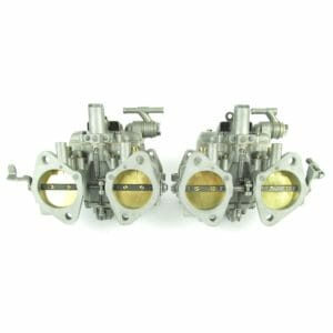 DELLORTO DHLA 48 CARBURETTORS PAIR (RECONDITIONED)