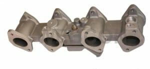 BMW 2000 / 2002 M10 ENGINE WEBER DCOE / DELLORTO DHLA CARBURETTOR CONVERSION MANIFOLD (W / J)
