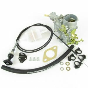 WEBER 34 ICH CARBURETTOR CONVERSION KIT FOR FORD FIESTA 1.1 (1117cc) 1977-83