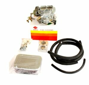 AMC JEEP 4.2L 6-CYL ENGINE WEBER 38 / 38 DGES CARBURETXEA CONVERSION KIT