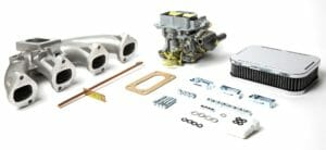 AFFRIGINATURA 32 / 36 DGV CARBURETTOR CONVERSION KIT - BMW 2000 & 2002 Ti M10 ENGINE