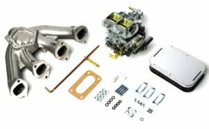 WEBER 38 DGAS CARBURETTOR CONVERSION KIT - BMW 2000 & 2002 Ti M10 ENGINE