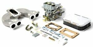 WEBER 32/36 DGAV CARBURETTOR CONVERSION KIT FOR MG MIDGET 1500 ENGINE